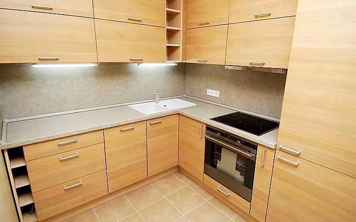 virtuvės baldai iš mdf