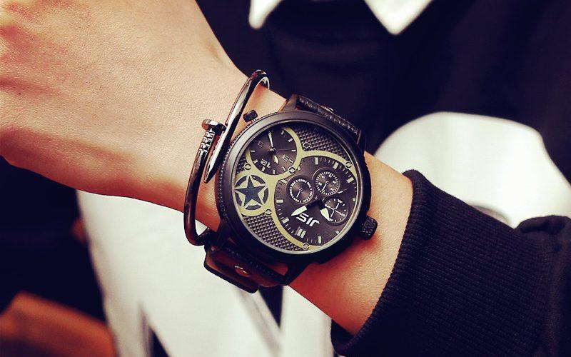 sidabriniai laikrodziai